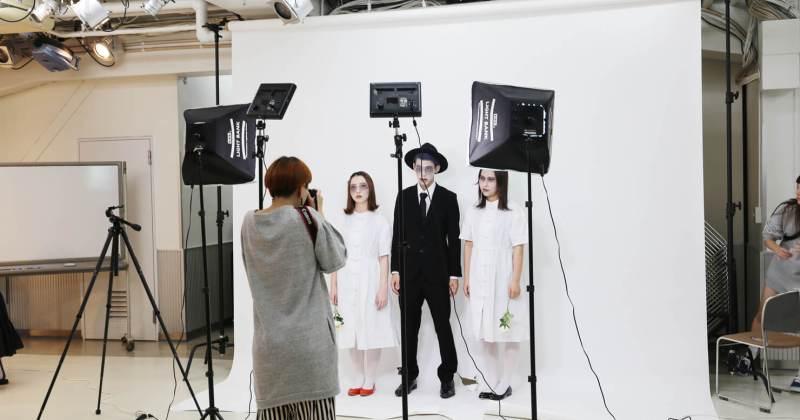 10/5(木)住田美容専門学校にて撮影講座を開催しました。