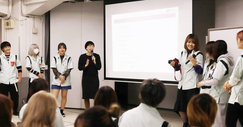 11/9(木)住田美容専門学校にて撮影講座を開催しました。