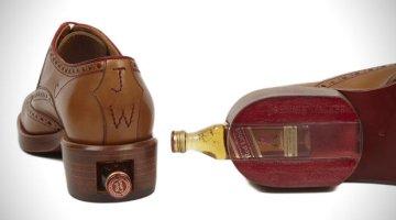 Johnnie-Walker-lança-sapato-com-compartimento-para-whisky