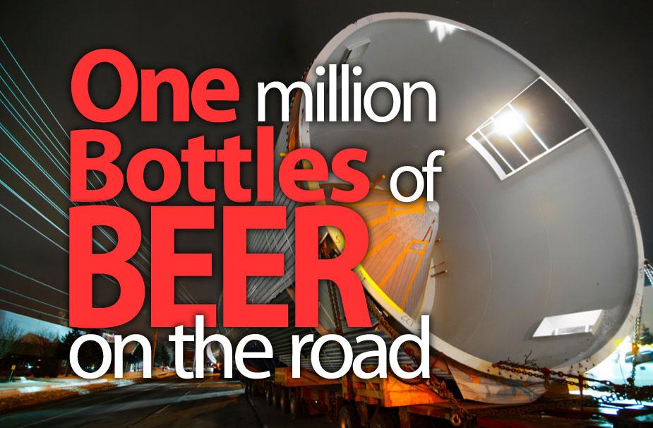 """Campanha de marketing da MillersCoors """"um milhão de garrafas na estrada"""""""