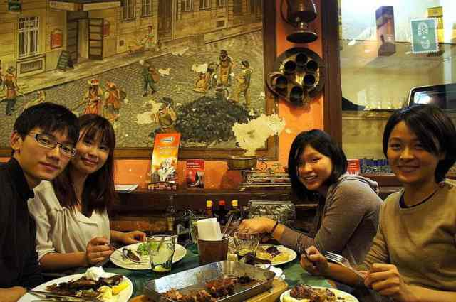 My amazing Taiwanese hosts in Prague