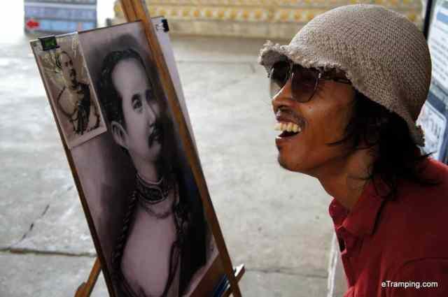 a Thai man smiling