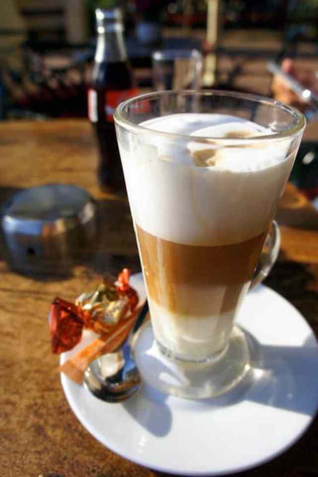 A cup of skinny latte in Efteling