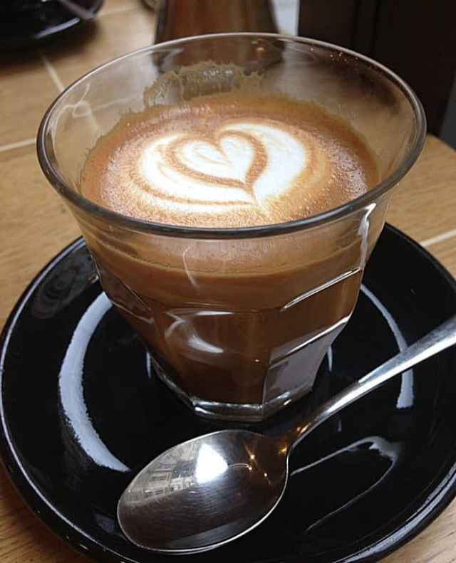 A cup of coffee in Paris