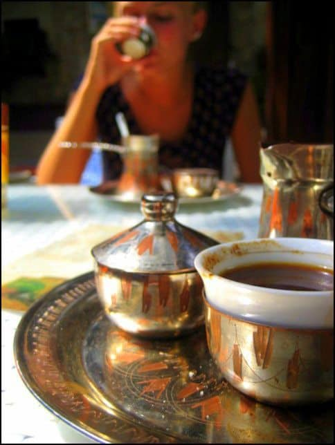 A cup of coffee from Bosnia