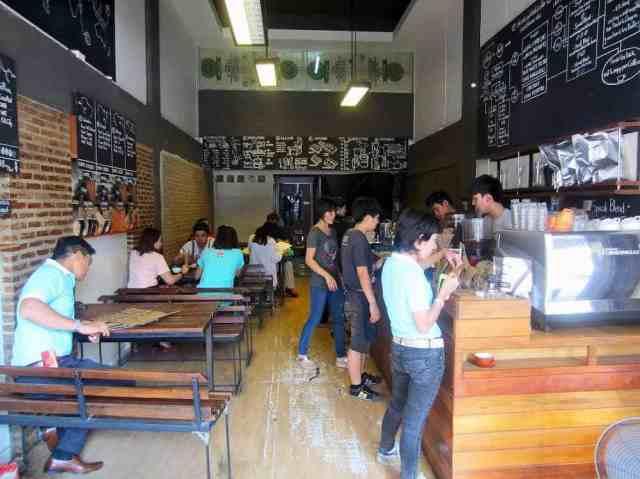 Thai coffee shop
