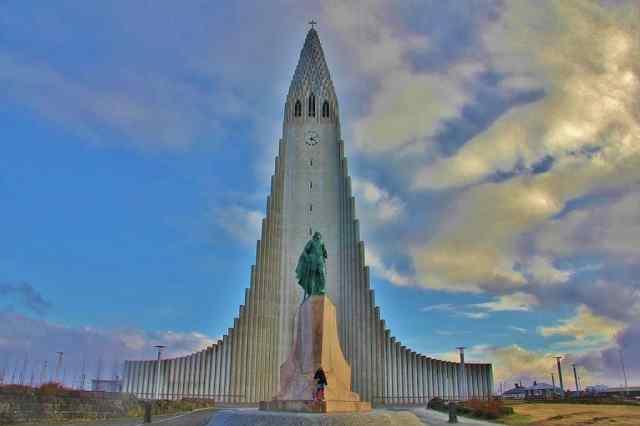 Hallgrímskirkja Church Reykjavik