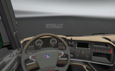 Scania R Dashboard Light-1