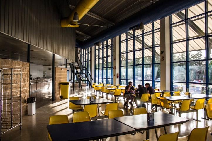 Cafetería del Campus Sur de la UPM