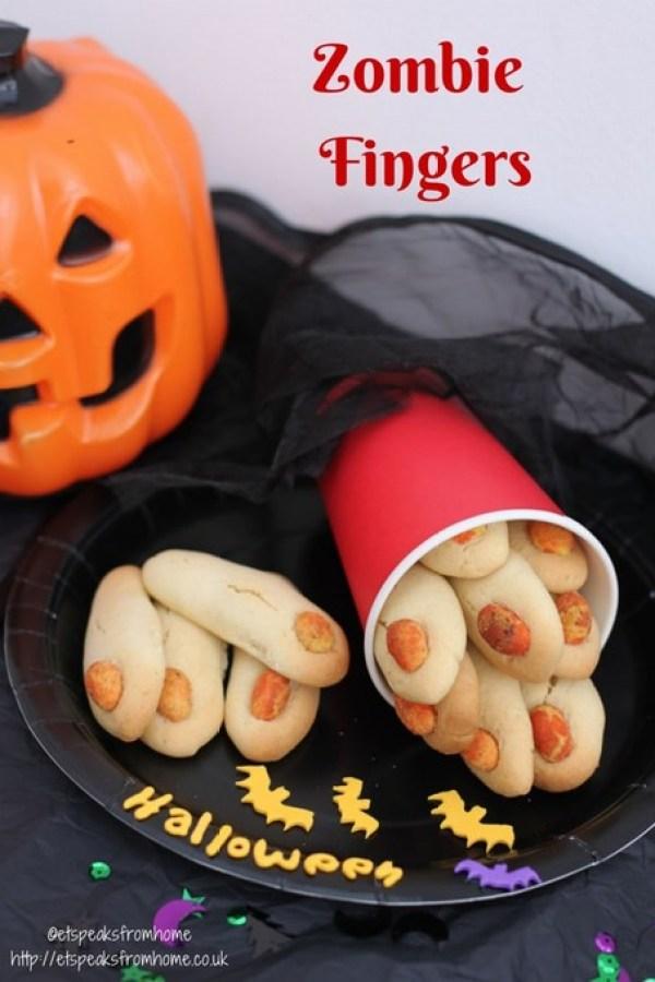 halloween zombie fingers