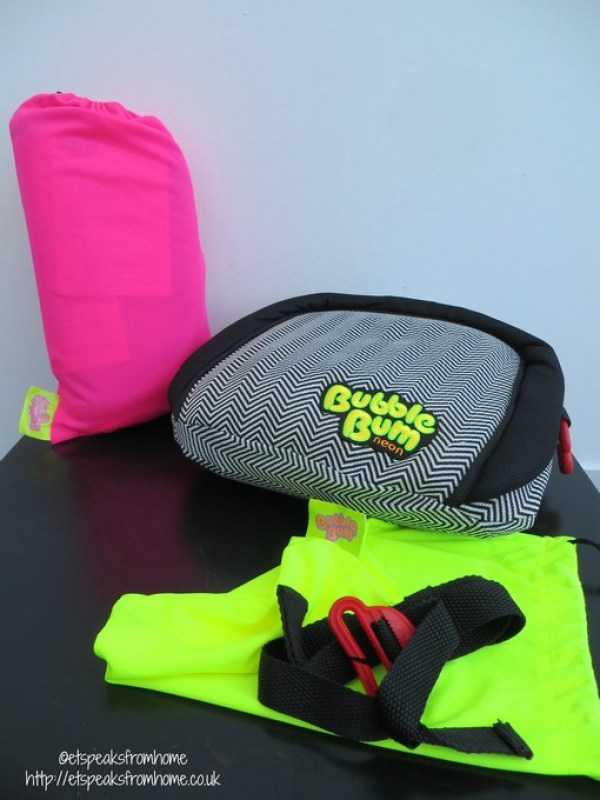 BubbleBum car booster seat review