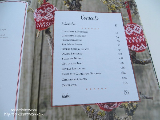 christmas recipe & craft contents