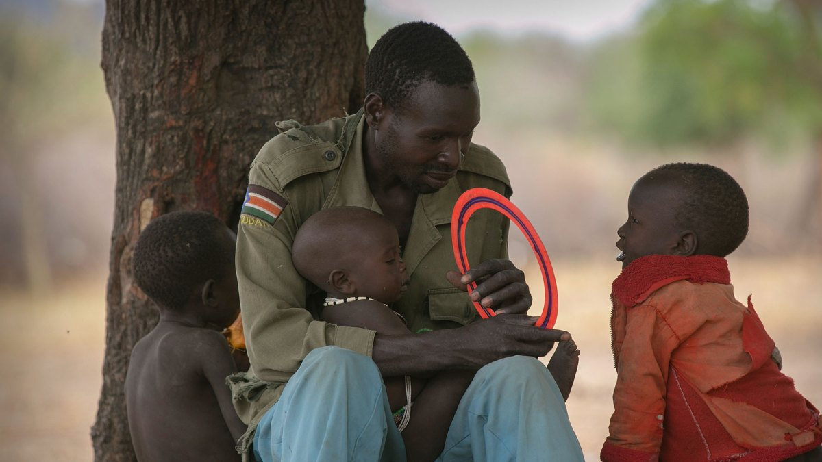 A day in the life ... in South Sudan