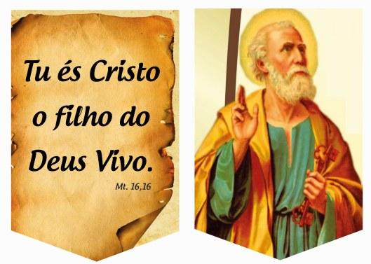 SÃO PEDRO tu es cristo