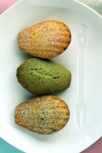 Orange Madeleines | Green Tea Madeleines | Early Grey Madeleines Recipe