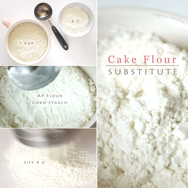 How to Make Cake Flour Homemade Substitute Recipe
