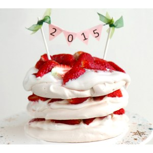 strawberry-meringue-cake