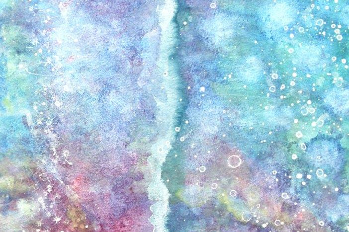 アイリスの絵画