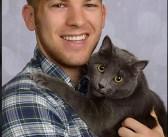 """プロのカメラマンに記念写真を撮ってもらった男性と愛猫。しかし、その写真はまるで """"結婚写真"""" でした ( *´艸`)♡ 8枚"""