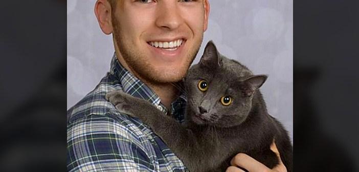 猫との写真撮影