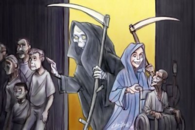 The Grim Reaper of euthanasia
