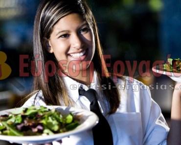 servitora gia ergasia se taverna estiatorio elliniko sthn germania