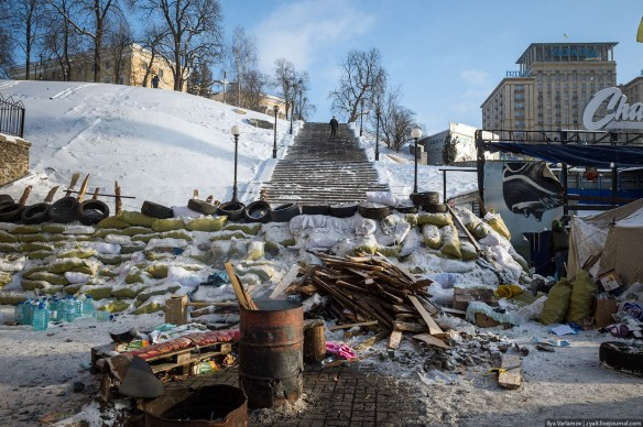 09 Anatomy of Maidan. Virtual tour of the protesters grounds