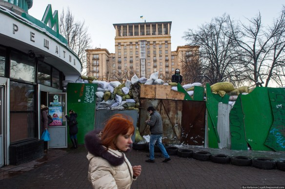 18 Anatomy of Maidan. Virtual tour of the protesters grounds