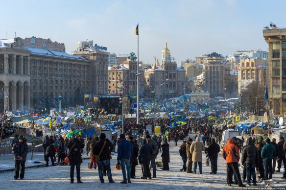 38 Anatomy of Maidan. Virtual tour of the protesters grounds