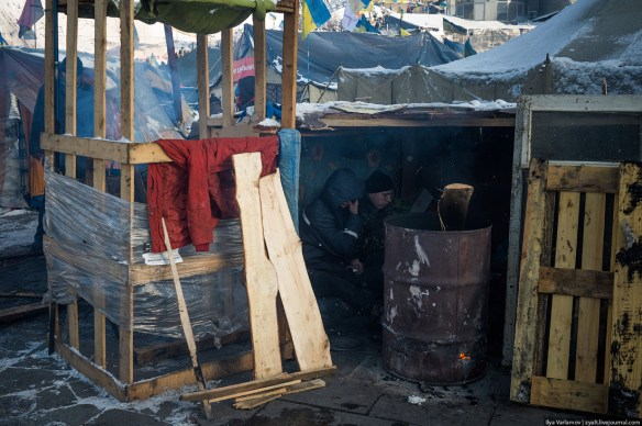 42 Anatomy of Maidan. Virtual tour of the protesters grounds