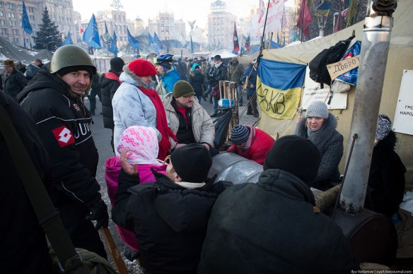 47 Anatomy of Maidan. Virtual tour of the protesters grounds