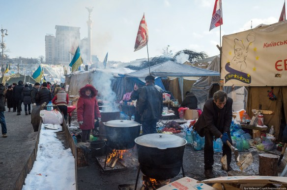 57 Anatomy of Maidan. Virtual tour of the protesters grounds