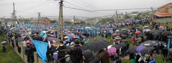 k1 Thousands of Crimean Tatars Mark 70th Anniversary of Deportation