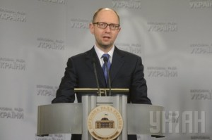 March 18, 2014: Ukrainian PM Yatseniuk Announces that Russia Ukraine conflict has Reached Military Stage