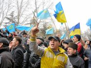 Crimean Tatars protest
