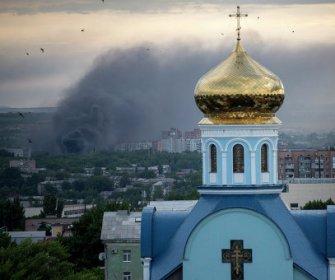Luhansk church