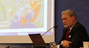 Prof. Phillip Karber at 7th Europe-Ukraine Forum, October 2014