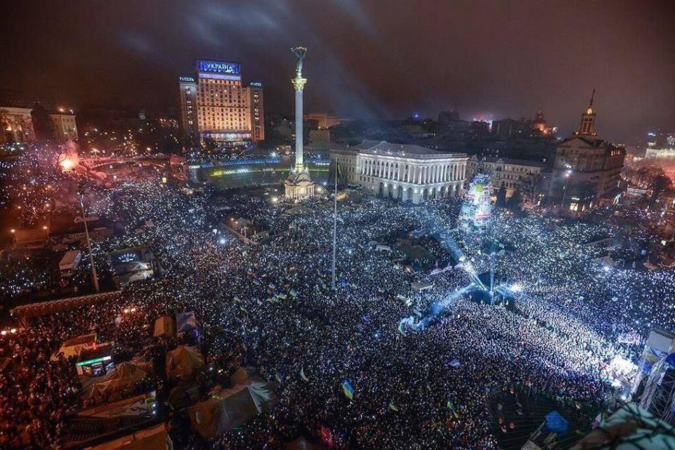 Il y a un an Maidan