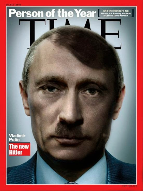 Time cover: Putin, the new Hitler