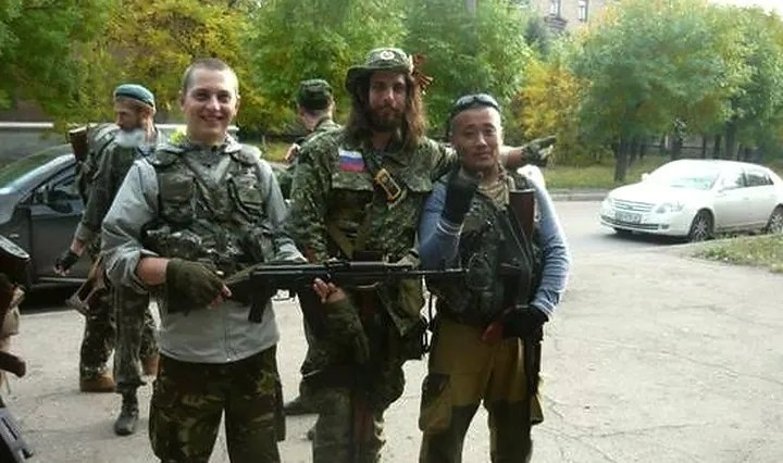 Russian mercenaries in Ukraine