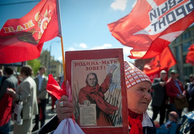 The Victory Day in Russia (Image: AFP/Scanpix)