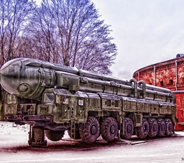 Andrey Korchagin. A Russian Mobile Intercontinental Ballistic Missile RT-2PM Topol.