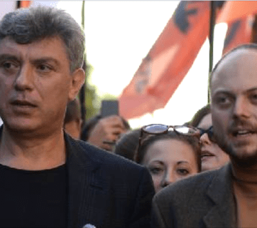 Boris Nemtsov and Vladimir Kara-Murza, Jr.