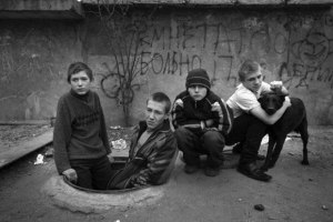 "Some of the five to seven million Russian children are living on the streets as ""besprizorniki,"" who seldom go to school and often turn to drugs and crime. They too are the collateral damage of Russia's wars. (Image: imrussia.org)"