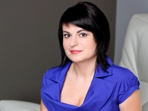 Natalya Radina, the chief editor of Charter 97, top independent news site in Belarus (Image: FB)