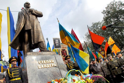 In 2010 Viktor Yushchenko assigned Stepan Bandera a title of the Hero of Ukraine.