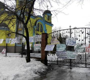 Ukrainian Greek Catholic Church in occupied Donetsk