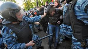 Police crackdown of opposition protests in Moscow, Russia (Image: Denis Vyshinsky, kommersant.ru)