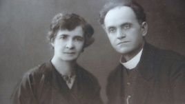 Ihor's grandmother Teofilia and grandfather Lev Yurchynsky