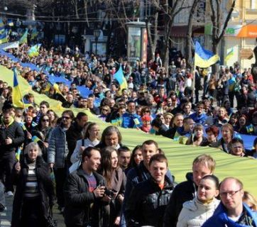 Rally in Odesa, May 2014